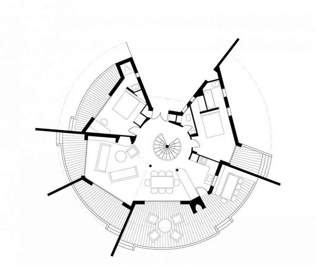 Architecte Lecci Casa Testa