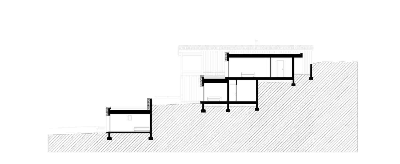 Plans Architecture Casa Arraghju San Gavino di Carbini