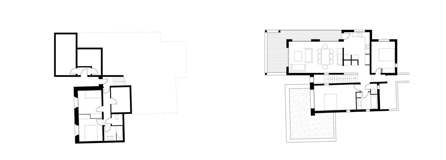 Plans Architecture Casa Arraghju San Gavino di Carbini
