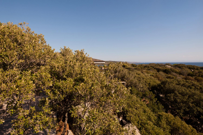 Torre maison architecte Pianottoli Corse du sud